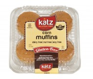 Katz Gluten free Corn Muffins (Case of 8)