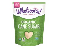 Wholesome Sweeteners Organic Cane Sugar, 32 Oz (12 Pack)