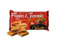 Pamela's Gluten Free Figgies and Jammies Cookies, Strawberry & Fig, 9 Oz Bag [6 Pack]