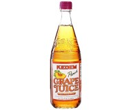 Kedem Peach Grape Juice, 22 oz [Case of 12]
