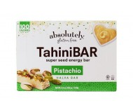 Absolutely Gluten Free Tahini Bars Pistachio, 4.44 ounce (12 boxes)