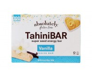 Absolutely Gluten Free Tahini Bars Vanilla Flavored, 4.4 ounce box (12 boxes)