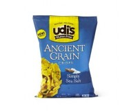 Udi's Gluten Free Ancient Grain Crisps, Simply Salt, 4.93 Oz (12 Pack)