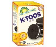 Kinnikinnick KinniToos Gluten Free Chocolate Vanilla Sandwich Cremes (Case of 6)