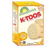Kinnikinnick KinniToos Gluten Free Vanilla Sandwich Crème Cookies (Case of 6)