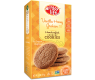 Enjoy Life Handcrafted Crunchy Cookies, Vanilla Honey Graham