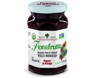 Fiordifrutta Organic Jam Spread, Wildberries, 8.82 OZ (Case of 6)