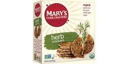 Mary's Gone Crackers, Gluten Free Crackers, Herb, 6.5 Oz. Box (12 Boxes)