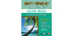 Matt's Munchies, Gluten Free Island Mango Fruit Snack, 1 Oz Pack (Case of 12)