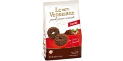 Le Veneziane Gluten Free Cookies With Chocolate & Hazelnut