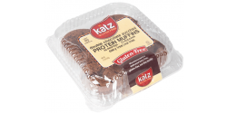 Katz Gluten Free Double Chocolate Zucchini Protein Muffins, 10 oz [Case of 6]