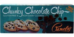 Pamela's Gluten Free Chunky Chocolate Chip Cookies, 7.25 Oz [6 Pack]