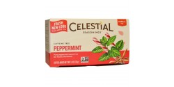 Celestial Seasonings Peppermint Herbal Tea (6 Boxes)