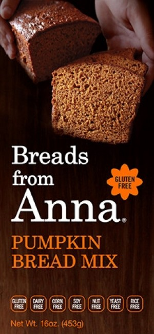 Breads From Anna GF Pumpkin Bread Mix (6 Pack)