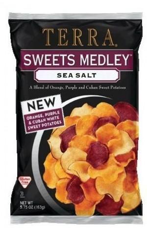 Terra Chips Sweet Medley Sea Salt, 6 Oz. (12 Per Case)