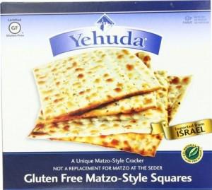Yehuda Gluten Free Matzo Squares, 10.5 Oz (6 Boxes)