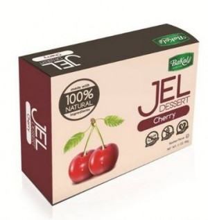 Bakol All Natural Gluten Free Jello, Cherry, 3 Oz. (12 Per Case)