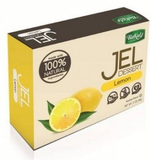 Bakol All Natural Gluten Free Jello, Lemon, 3 Oz. (12 Per Case)