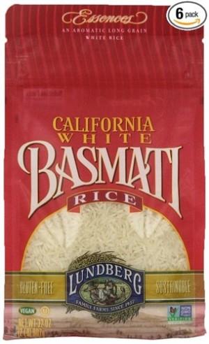 Lundberg California White Basmati Rice
