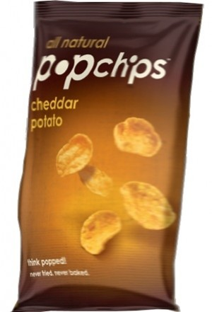 Popchips, Cheddar Cheese, 3 Oz Bag