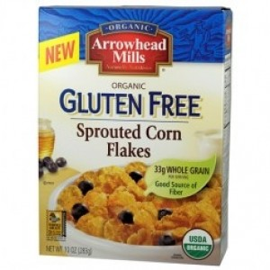 Arrowhead Mills Organic Gluten Free Sprouted Corn Flakes Cereal