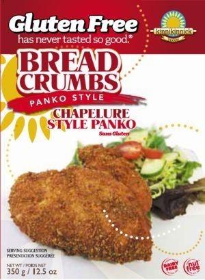 Kinnikinnick Gluten Free Panko-Style Bread Crumbs (Case of 6)