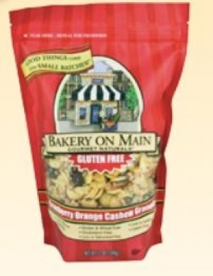 Bakery On Main, Gluten Free Cranberry Orange Cashew Granola [6 Pack]