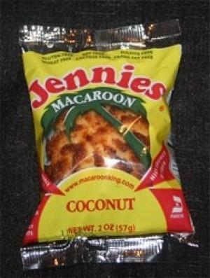 Jennie's Gluten-Free Coconut Macaroons (24 Pack)
