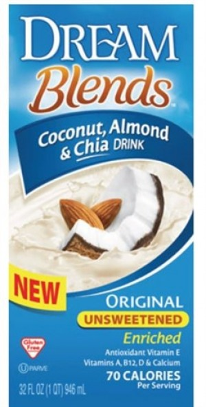 Dream Blends, Enriched Coconut Almond & Chia Original Unsweetened