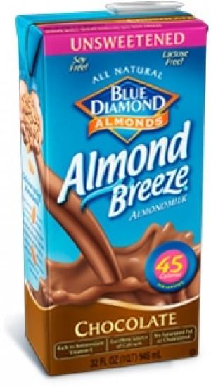 Almond Breeze, Chocolate Unsweetened, 32 Oz
