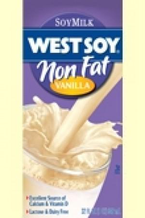 Westsoy NonFat Soymilk, Vanilla