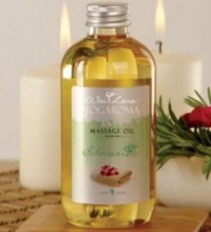 Wai Lana Yogaroma, Massage Oil, Siberian Fir