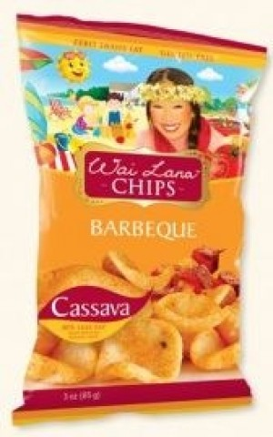 Wai Lana Snacks, Barbeque Chips (Case of 6)