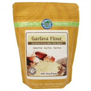 Authentic Foods Fine Garvafa Flour, 25 lb
