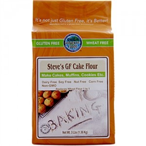 Authentic Foods Steve's Gluten Free Cake Flour Blend 3 lbs