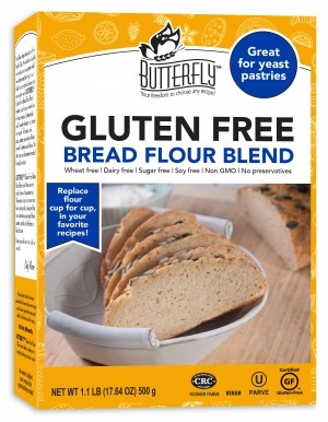 Butterfly™ Gluten Free Bread Flour Blend, 1 lb