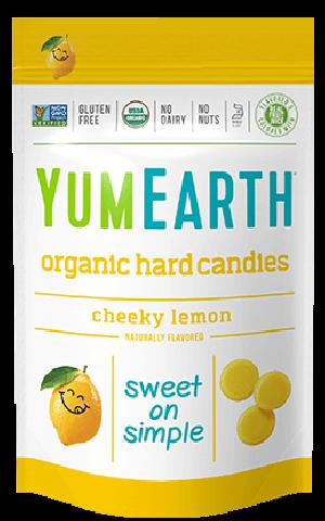 Yummy Earth Organic Candy Pouch, Cheeky Lemon Drops