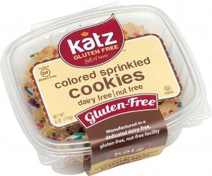 Katz  Gluten Free Colored Sprinkle Cookies