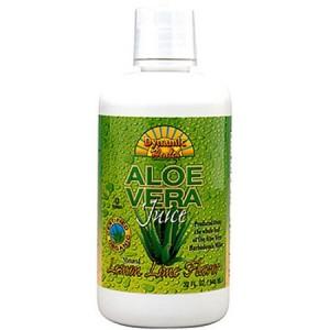 Dynamic Health Fruit Liquid Supplement, Aloe Vera Lemon Lime