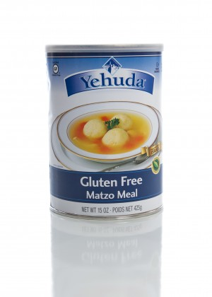 Yehuda Gluten Free Matzo Meal, 15 Oz. Canister (6 Per Case)