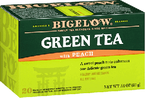 Bigelow Tea, Green Tea With Peach