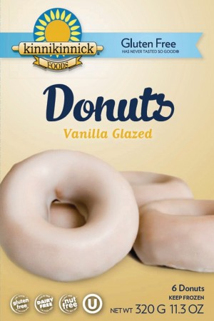 Kinnikinnick Vanilla Glazed Donuts