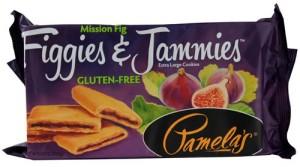 Pamela's Gluten Free Figgies and Jammies Cookies, Mission Fig, 9 Oz Bag [6 Pack]