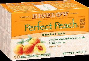 Bigelow Tea, Perfect Peach Herb Tea