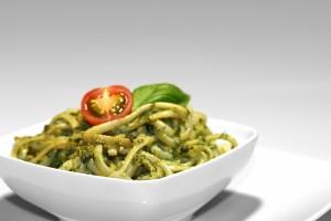 Walnut Pesto Pasta Salad