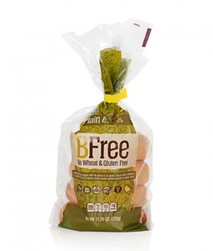 BFree Gluten Free Plain Bagels, 11.29 Oz [3 Pack]
