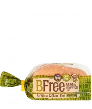 BFree Gluten Free Soft White Sandwich Bread Loaf, 14.1 Oz [3 Pack]