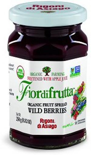 Fiordifrutta Organic Jam Spread, Wildberries, 8.82 OZ (Case of 6)