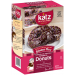 Katz Gluten Free Chocolate Frosted Colored Sprinkle Donuts