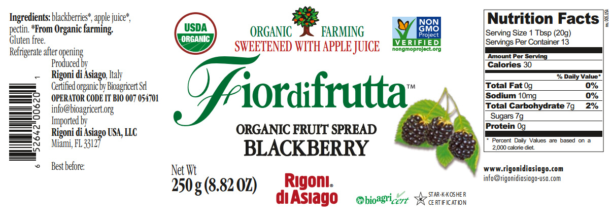 fiordifrutta blackberry nutrition